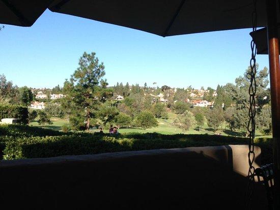 Rancho Bernardo Inn : View from breakfast area