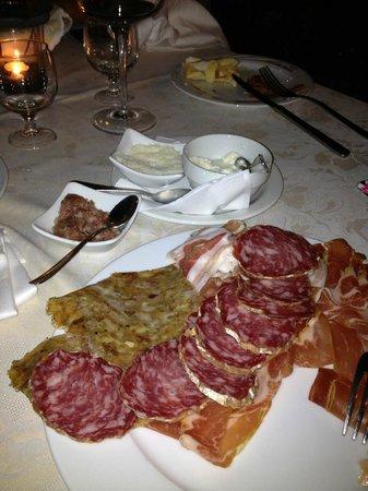 Osteria Clo' Filomena: salumi e formaggi