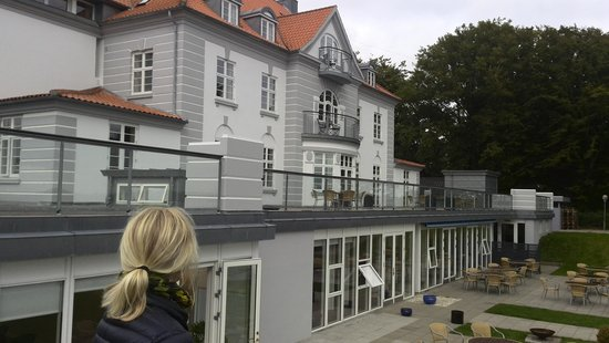 Sinatur Hotel Sixtus: Hotellet fra haven