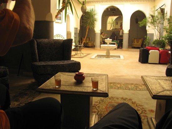 Riad Des Epices : Cotiletto interno molto carino