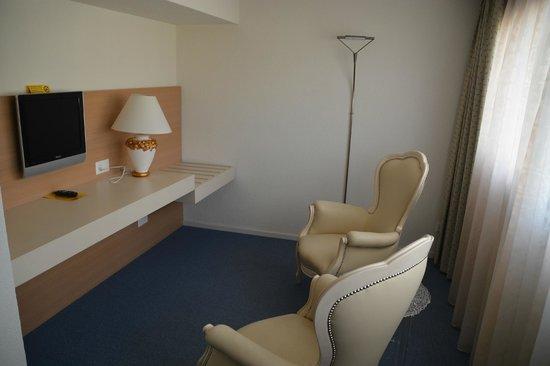 Hotel Garni Muralto: Teil des Schlafbereiches