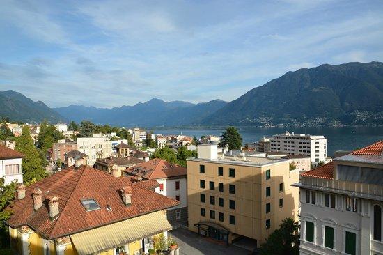 Hotel Garni Muralto: Aussicht