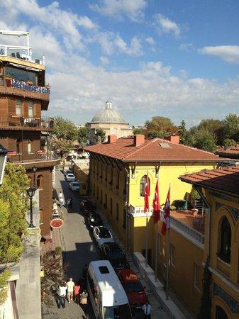 Turk Art Hotel: Vue de la terrasse