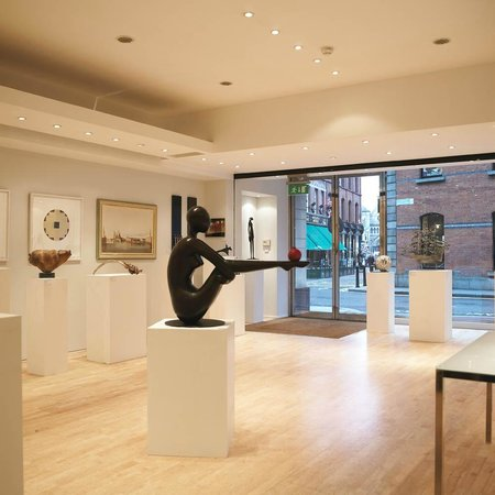 Solomon Fine Art - gallery interior
