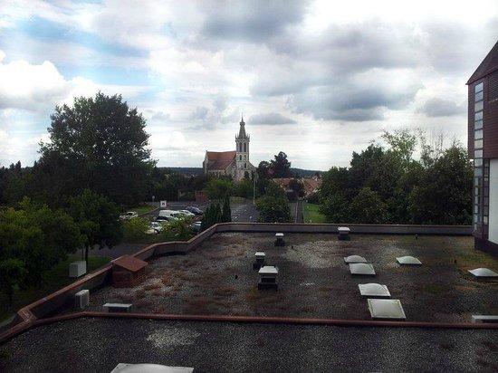 Hotel Sopron: Aussicht