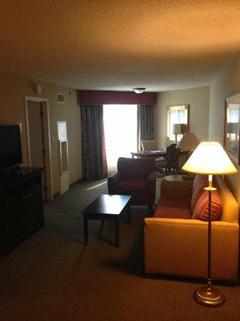 Embassy Suites by Hilton Detroit - Troy/Auburn Hills: Main living area