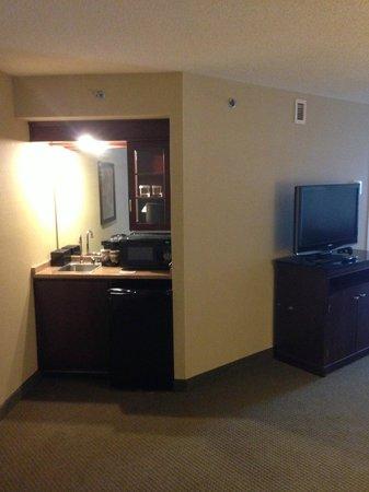 Embassy Suites by Hilton Detroit - Troy/Auburn Hills: Weird little bar area