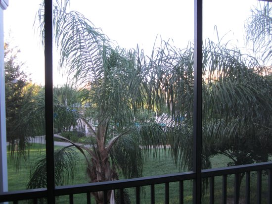 Bahama Bay Resort Orlando by Wyndham Vacation Rentals: View from balcony