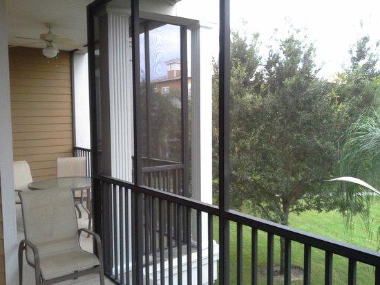 Bahama Bay Resort Orlando by Wyndham Vacation Rentals: Our balcony