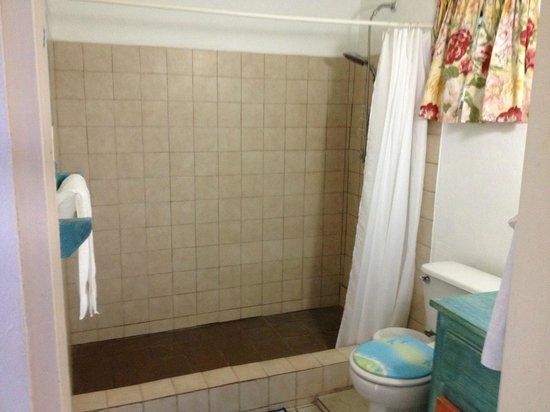 3 Martini Beach Bar Restaurant and Apartments: bathroom