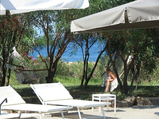 Resort Valle Dell'Erica Thalasso & Spa: the kids loved the hammocks