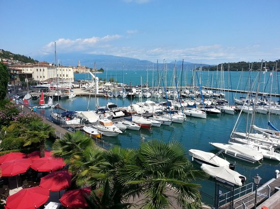 dalla terrazza - Picture of Hotel Bellerive, Salo - TripAdvisor