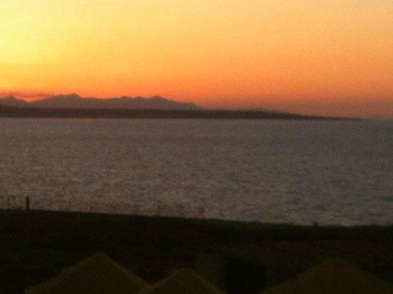 smartline Vasia Village: Sunset from Balcony of room 211