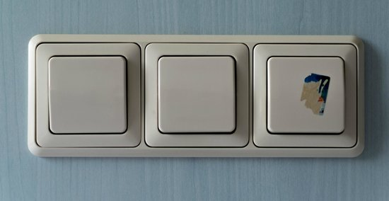 Atrium Hotel: Interruttori luce