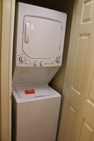 Marriott's Grande Vista: Villa Washer & Dryer