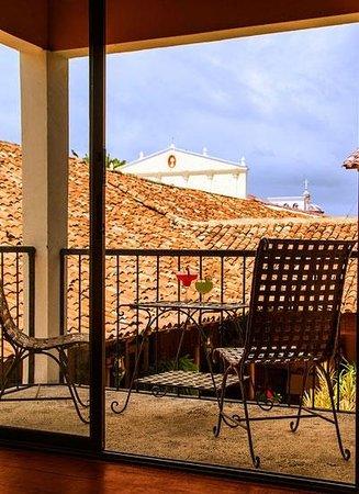 Hotel Estrada: Junior Suite balcony