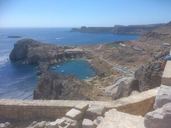 Princess Andriana Resort & Spa: Lindos; view from the Acropolis