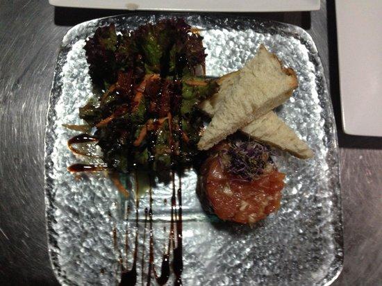 Sharlotte: Tartar de salmó