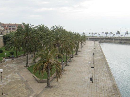 Vista del parque del Mar.