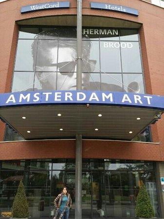 WestCord Art Hotel Amsterdam : facciata