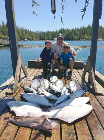 Rodgers Fishing Lodge: A good day's catch