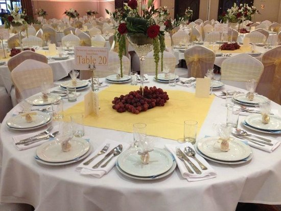 Royal Court Hotel - Coventry: Table Setting