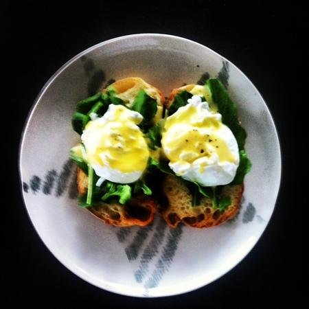 The Elephant Restaurant & Bar: eggs florentine