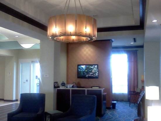 Fairfield Inn & Suites Orlando at SeaWorld®: Concierge where we bought our theme park tickets