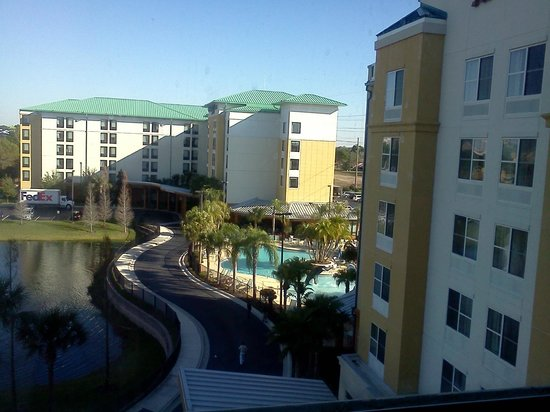 Fairfield Inn & Suites Orlando at SeaWorld®: View from room