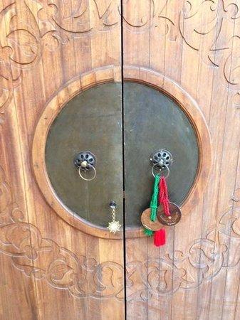 Palais Namaskar: the door
