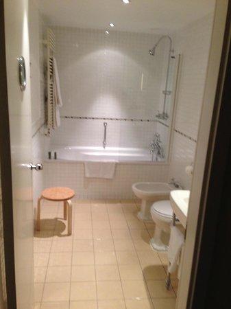 Hotel Das Triest: The Bathroom