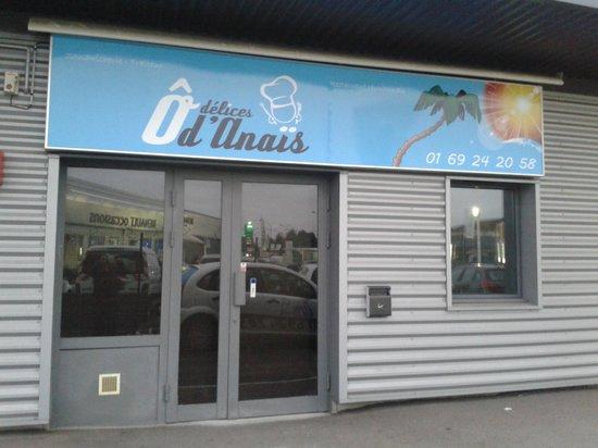 O delices d'Anais: Façade du restaurant