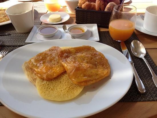 Palais Namaskar: moroccan pancakes