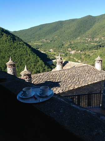 L'Abadia de Sieste: Coffee on the Terrace