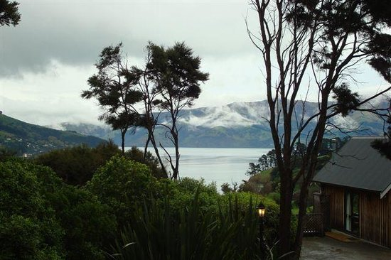 Akaroa Cottages - Heritage Collection: nice view from cottage