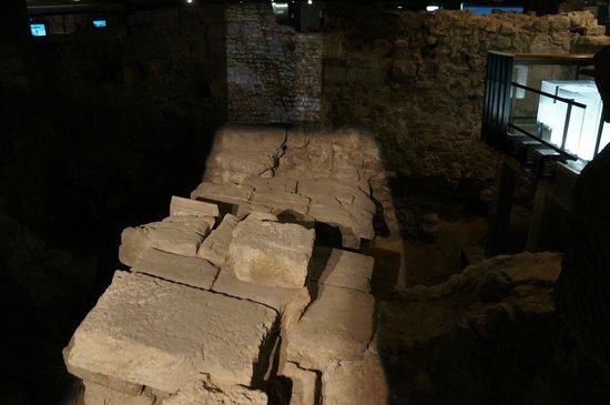 Archeological Crypt of the Parvis of Notre-Dame: Fotos do espaço disponível para visitação