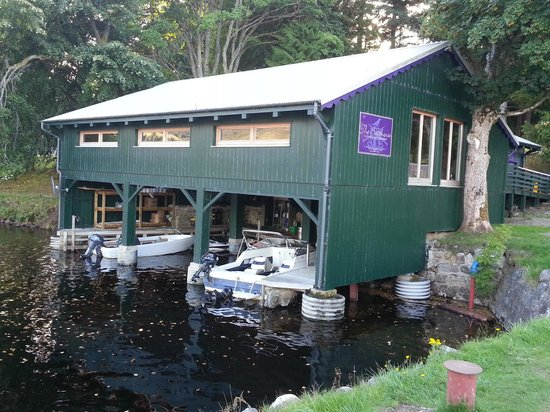 The Boathouse Lochside Restaurant: The Boathouse Resteraunt at Fort Augustus