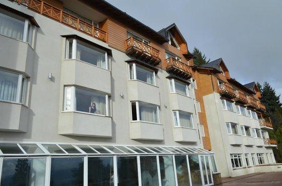 Hotel Villa Huinid Bustillo: Mirando el paisaje desde la habitacion!!!