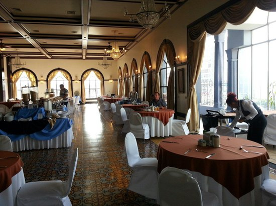 Gran Hotel Costa Rica : Breakfast in the Ballroom