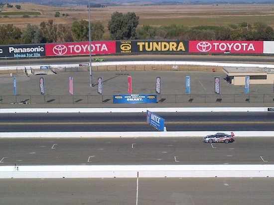 Sonoma Raceway: Excellent track- not a bad seat in the house!