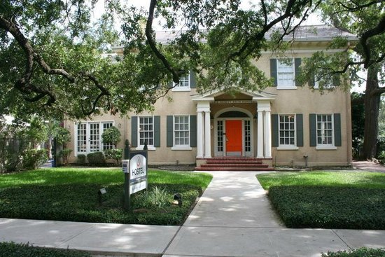 HI-Houston: The Morty Rich Hostel: Front View of Hostel