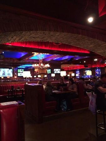 Cadillac Ranch: the view from the bar