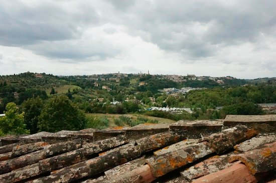 Santa10 : The view of Siena from our window