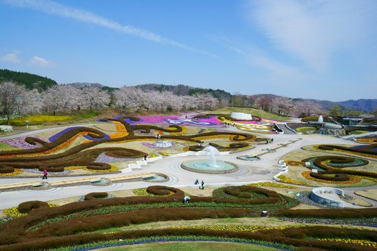 Kawasaki-machi, Japon : 噴水広場