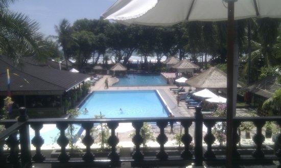 The Jayakarta Bali Beach Resort : Looking from Junior Suite toward beach
