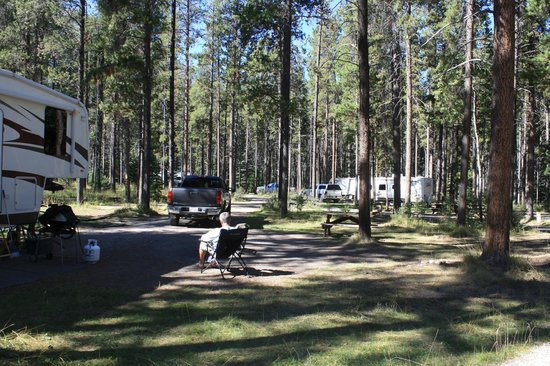 Whistlers Campground: Whistler Full Service Site