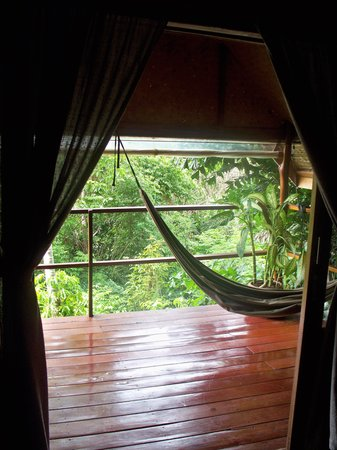 The Sanctuary Thailand: View out to the Balcony