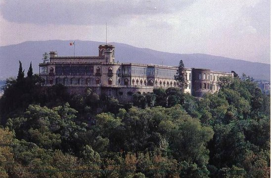 Battle For Chapultepec Castle In Mexico City In