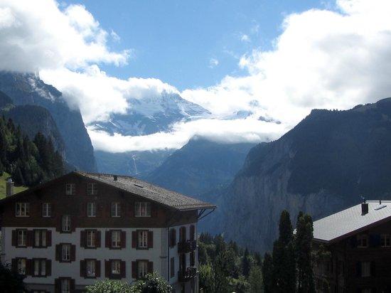 Hotel Baeren: View from balcony!