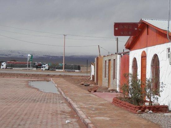 Hostal Solor: Vista do Hostel Solor